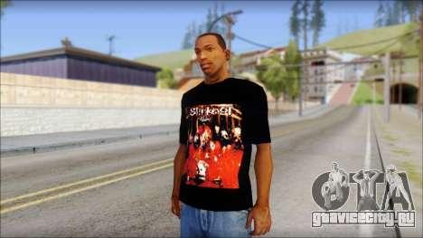 SlipKnoT T-Shirt mod для GTA San Andreas