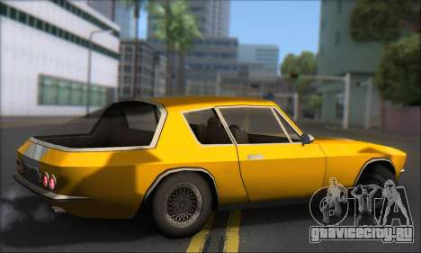 Jensen Intercepter 1971 Fast And Furious 6 для GTA San Andreas вид сзади слева