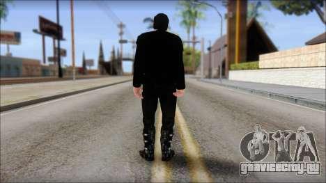 Till Lindemann Skin для GTA San Andreas второй скриншот