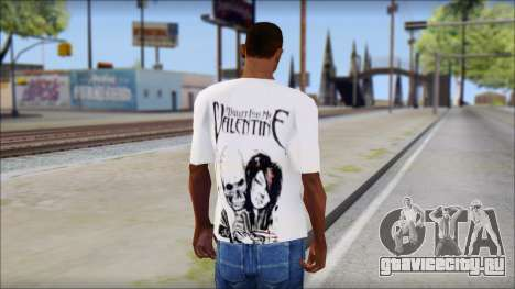 BFMV Russian Roulette T-Shirt для GTA San Andreas второй скриншот