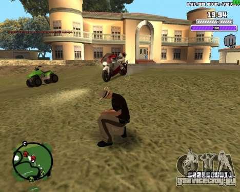 C-HUD by Weezy для GTA San Andreas третий скриншот