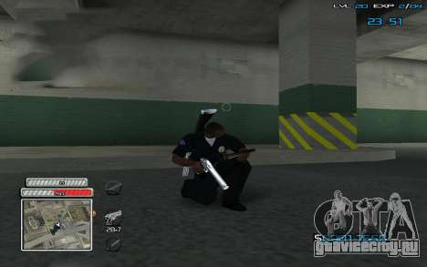 New C-HUD v.2 для GTA San Andreas второй скриншот