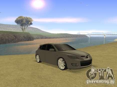Mazda 3 v2 для GTA San Andreas