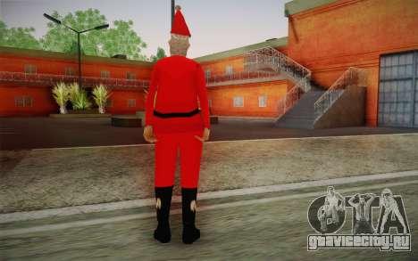 Санта Клаус для GTA San Andreas второй скриншот