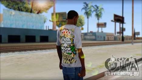 Ed Hardy T-Shirt для GTA San Andreas второй скриншот