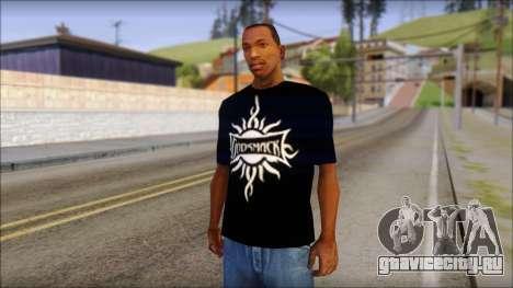 Godsmack T-Shirt для GTA San Andreas