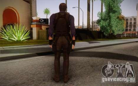 Leon Kennedy from Resident Evil 6 для GTA San Andreas второй скриншот