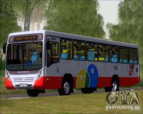 Neobus Mega IV - TCA (Araras) для GTA San Andreas вид слева