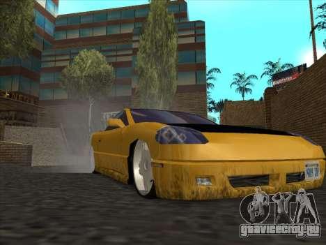 Alpha HD Cabrio для GTA San Andreas вид сзади