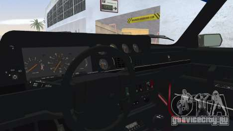 Volvo 242 Turbo Evolution для GTA Vice City вид сзади