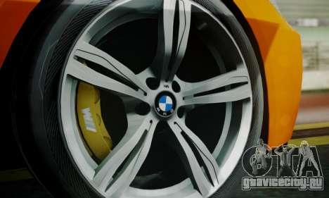 BMW M6 F13 2013 для GTA San Andreas колёса