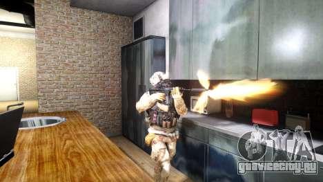 M4A1 V1.1 для GTA 4 третий скриншот