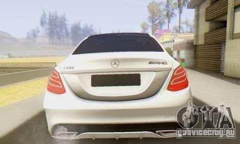 Mercedes-Benz C250 AMG для GTA San Andreas вид справа