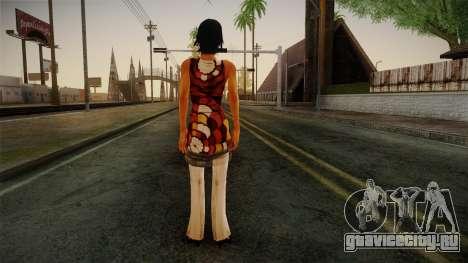 Billie from Stranglehold для GTA San Andreas второй скриншот