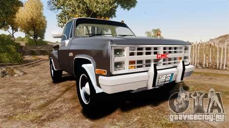 GMC 454 Pick-Up для GTA 4