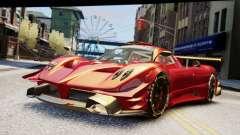 Pagani Zonda Autosport для GTA 4