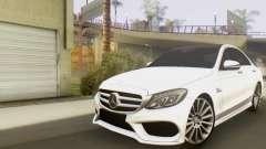 Mercedes-Benz C250 AMG для GTA San Andreas