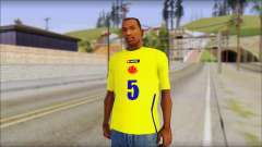 T-Shirt Colombia для GTA San Andreas