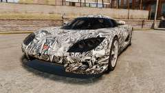 Koenigsegg CCX v1.5 для GTA 4