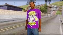 Paises Bajos Sneijder T-Shirt для GTA San Andreas