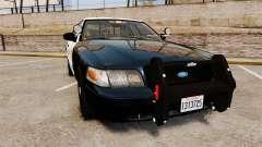 Ford Crown Victoria Sheriff [ELS] Slicktop для GTA 4