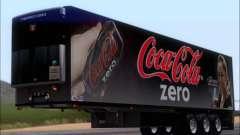 Прицеп Chereau Coca Cola Zero Truck для GTA San Andreas