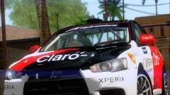 Mitsubushi Lancer Evolution Rally Team Claro