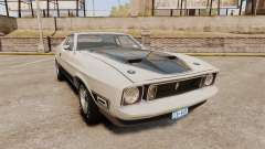 Ford Mustang Mach 1 1973 v3.0 GCUCPSpec Edit для GTA 4