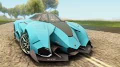 Lamborghini Egoista Concept 2013 для GTA San Andreas