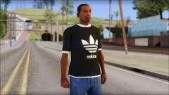 Adidas Black T-Shirt