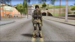 Forest GROM from Soldier Front 2 для GTA San Andreas