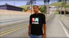 ThreeA T-Shirt для GTA San Andreas