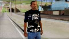 A7X Deathbats Fan T-Shirt Black для GTA San Andreas