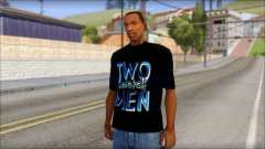 Two and a half Men Fan T-Shirt для GTA San Andreas