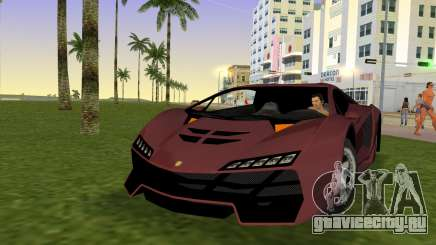 Zentorno from GTA 5 для GTA Vice City