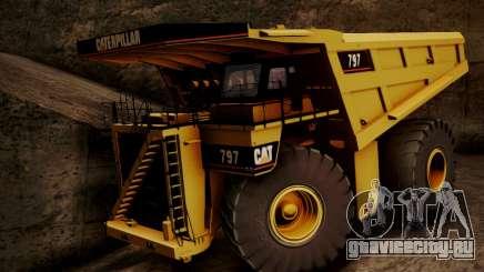 Caterpillar 797 для GTA San Andreas