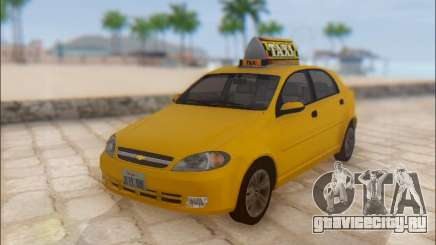 Chevrolet Lacetti Taxi для GTA San Andreas