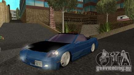 Alpha HD Cabrio для GTA San Andreas