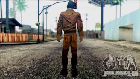 Danny from The Walking Dead: 400 Days для GTA San Andreas второй скриншот