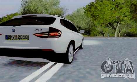 Bmw X1 для GTA San Andreas вид справа