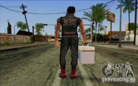 Claude in Pank Style для GTA San Andreas второй скриншот
