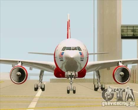 Airbus A330-300 Air Asia X для GTA San Andreas вид сбоку