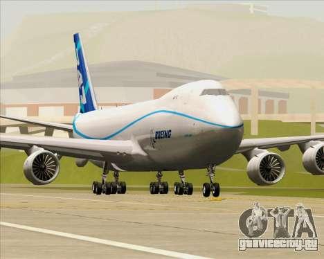 Boeing 747-8 Cargo House Livery для GTA San Andreas колёса