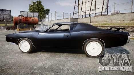 Dodge Charger 1971 для GTA 4 вид слева
