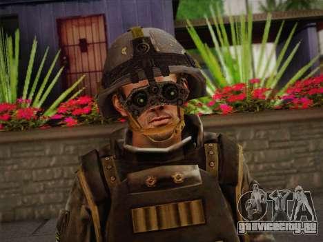 Боец СВР (Tom Clancy Splinter Cell) v1 для GTA San Andreas третий скриншот