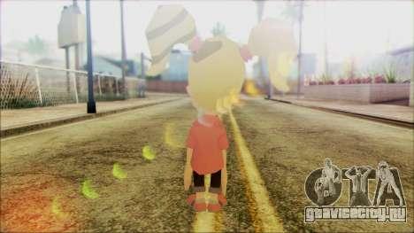 Cindy Vortex from Jimmy Neutron для GTA San Andreas второй скриншот