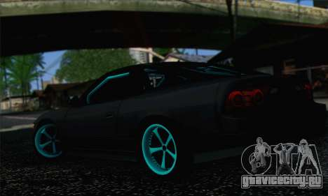 Nissan 240SX Drift Monster Energy для GTA San Andreas вид слева