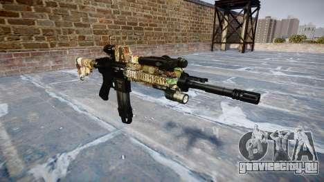 Автоматический карабин Colt M4A1 ronin для GTA 4