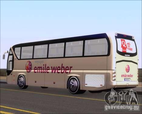 Neoplan Tourliner Emile Weber для GTA San Andreas вид справа