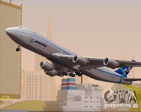 Boeing 747-8 Cargo House Livery для GTA San Andreas